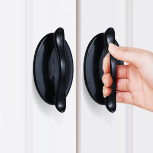 1pcs Modern minimalist handle Door and Window Adhesive Auxiliary Handle Kitchen Cupboard Door Pulls Drawer Knobs Home Decoration