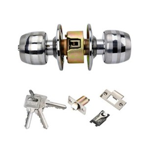 Door lock ball lock door lock indoor round lock door lock bedroom universal round lock stainless steel ball lock