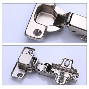 Stainless Steel Cabinet Hinge Door Hydraulic Hinges Damper Buffer Soft Close For Cabinet Cupboard Furniture Hardware Accessories