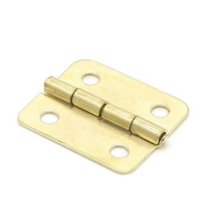 10x Kitchen Cabinet Door 4 Holes Drawer Hinges Jewelry Box Furniture 18x16mm