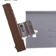 Kitchen Drawer Hardware Modern Table Lighting Making Drawers Using Metal Box Instead Of Wood Demo Front Mounting Brackets