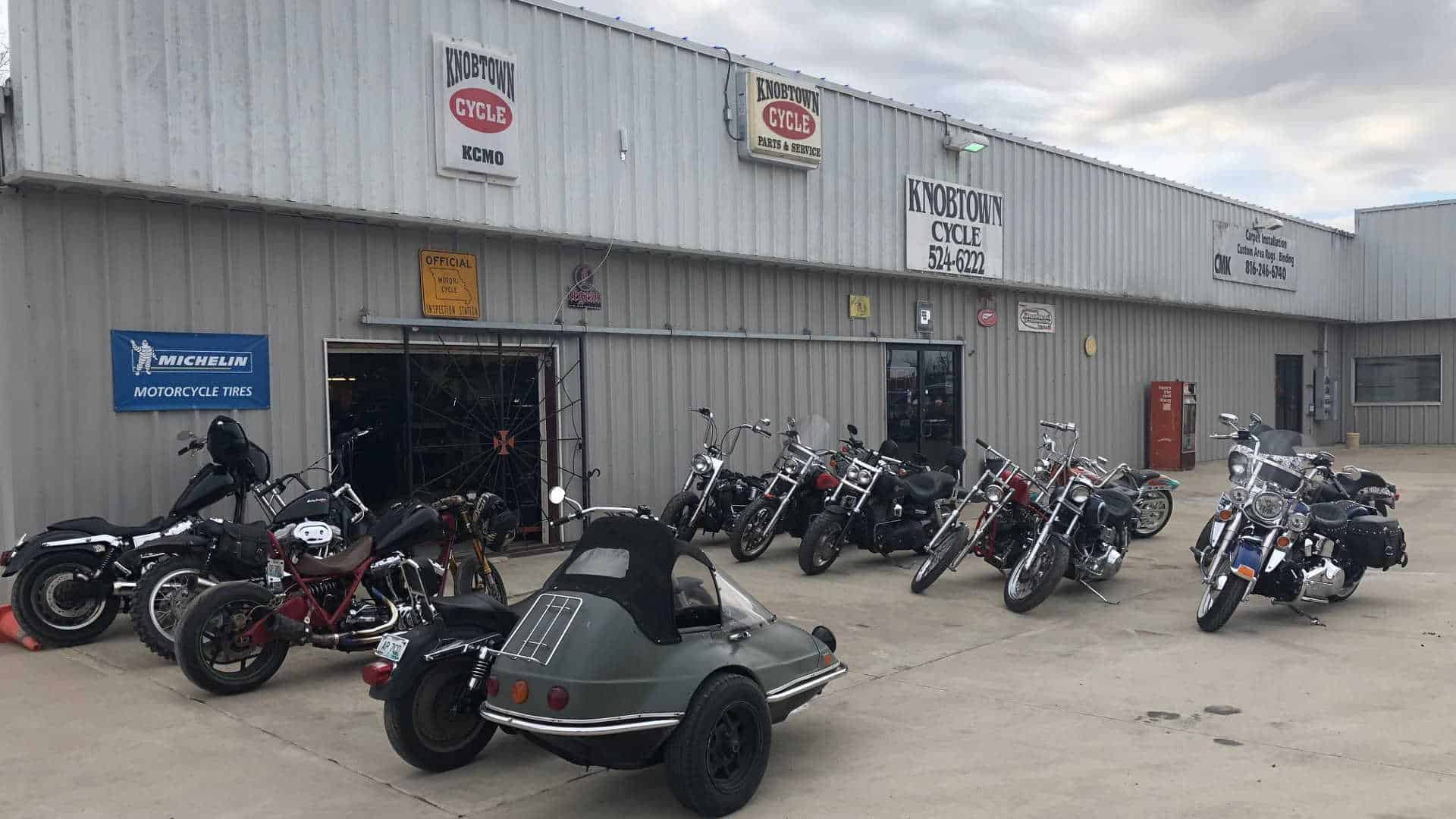 Kansas City's Old School Chopper Shop
