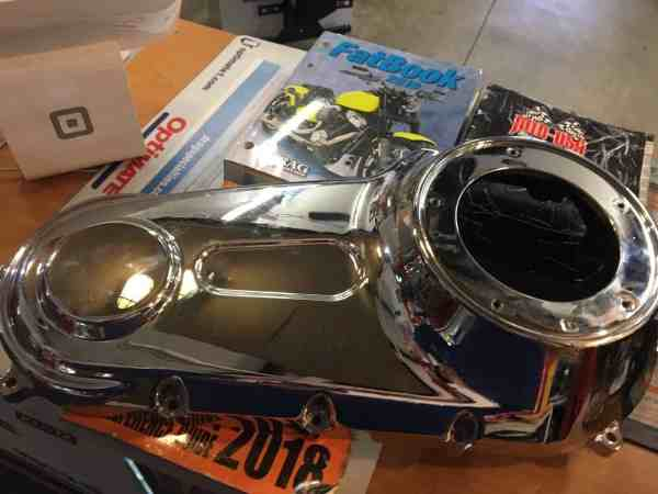 HD Chrome Outer Primary Cover #60784-06