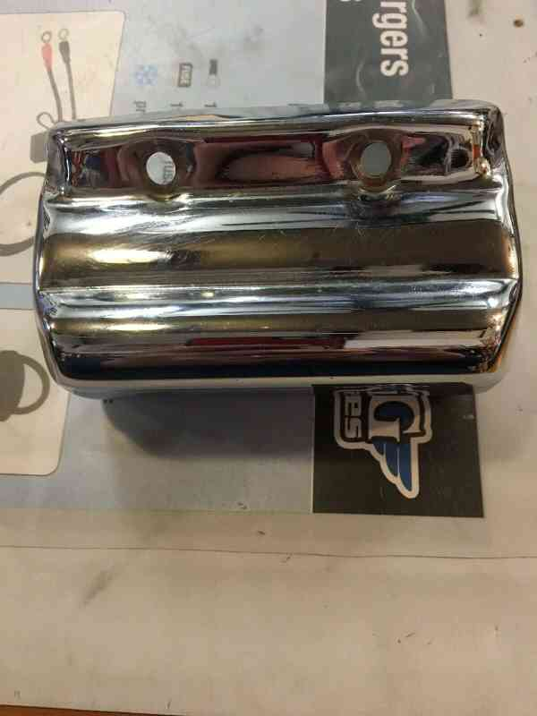 Harley Davidson Ignition Coil Cover Chrome #31625-82