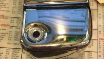 Harley Davidson Ignition Coil Cover Chrome #31644-99