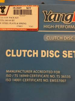 Replica Clutch Kit made with Kevlar for Harley models 1991-1997