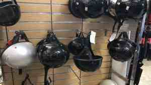 Motorcycle Helmets at Knobtown Cycle
