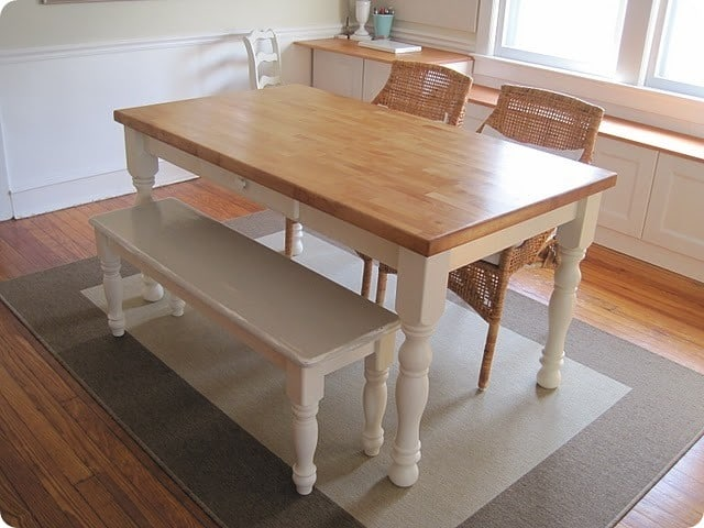 Norfolk Dining Table & Bench