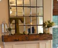 Best of PB #9: Large Multipanel Mantel Mirror