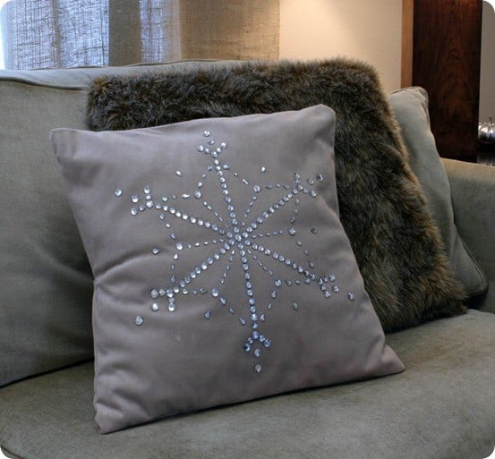restoration hardware living room beautiful small decor jewel snowflake pillow