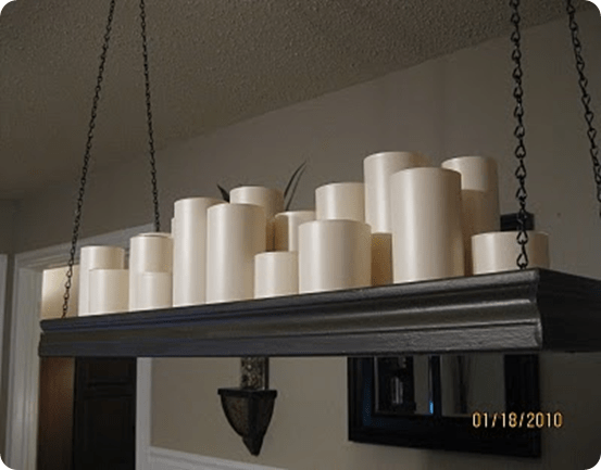 Pb Inspired Candle Chandelier