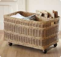 Rolling Storage Basket