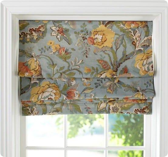 fall kitchen curtains zephyr hurricane ak2500 hood roman shade from drape - knockoffdecor.com