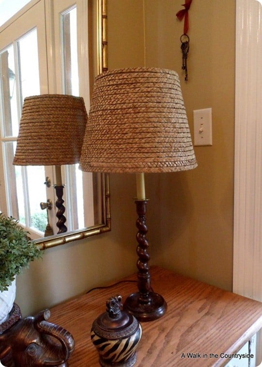 Seagrass Lampshade