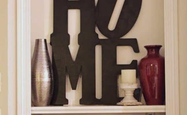 Home Word Art