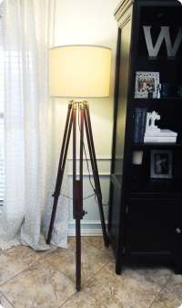 Diy Tripod Floor Lamp | www.imgkid.com - The Image Kid Has It!