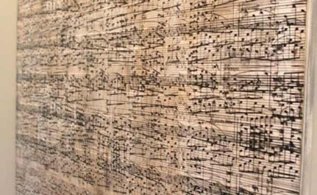 Sheet Music Wall Art