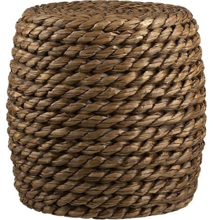 Rope Stool and Side Table  KnockOffDecorcom