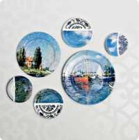 Plate Collage Wall Art