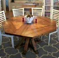 One-of-a-Kind Octagon Dining Room Table