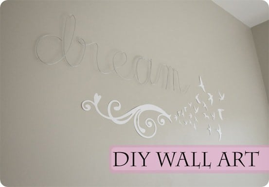 Wire Word Wall Artwork