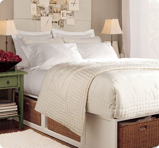 Storage Bed For A Small Space