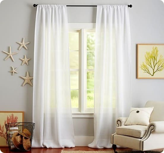 Save Money on CurtainsWith Tablecloths  KnockOffDecorcom