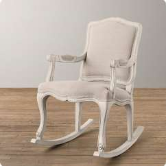 How To Diy Reupholster A Chair Folding Floor Bed Chalk Paint Rocking Makeover