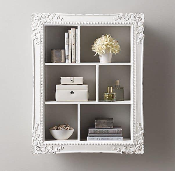 Large Picture Frame Display Shelf DIY  KnockOffDecorcom