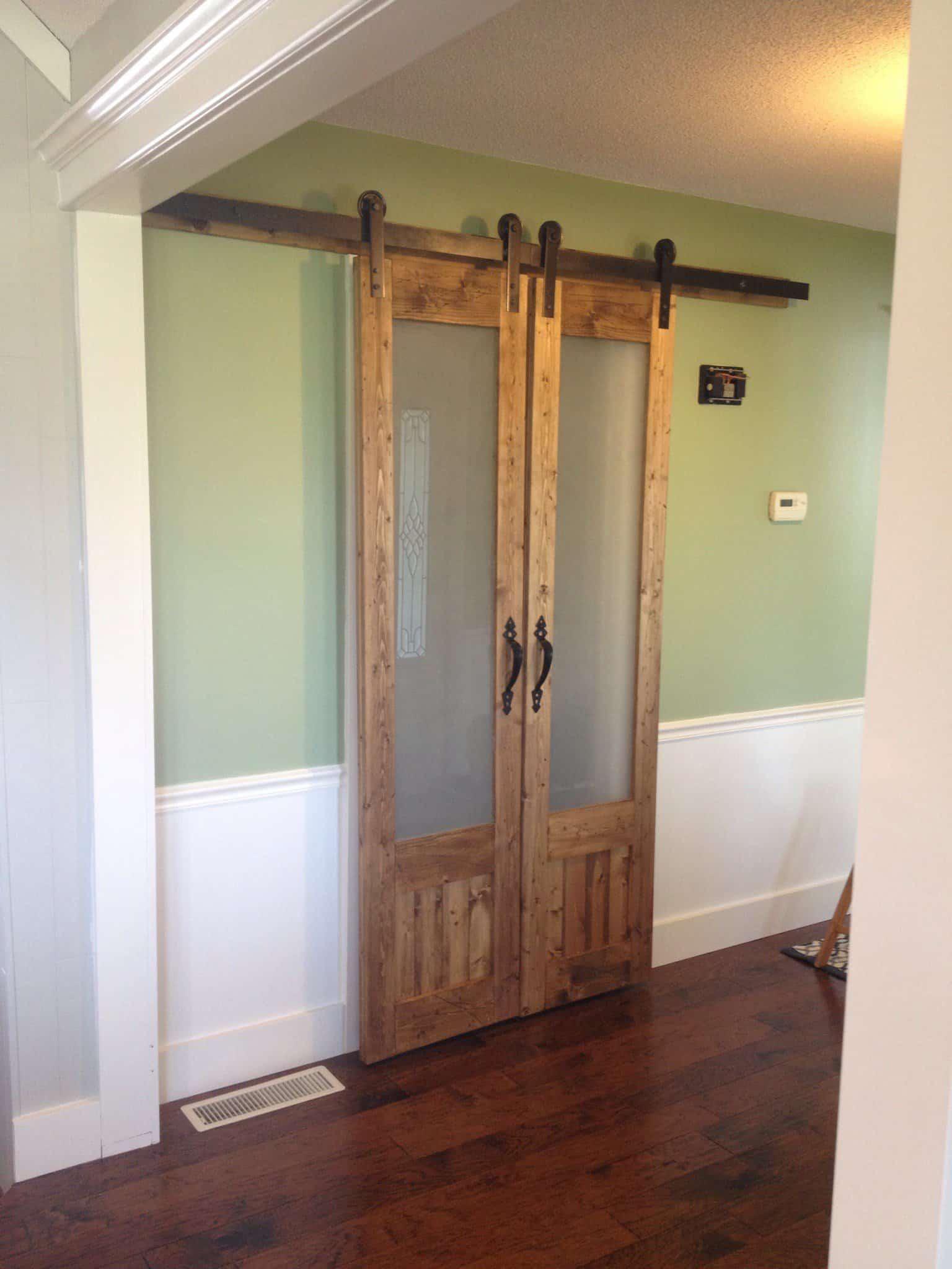 10 Fabulous Interior Barn Doors  KnockOffDecorcom