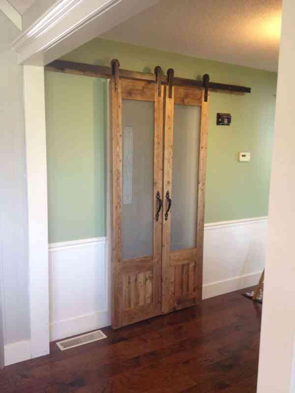 Sliding Barn Doors Laundry Room