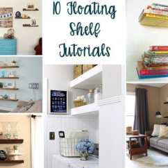 Diy Floating Shelves For My Living Room Table Decor 10 Beautiful