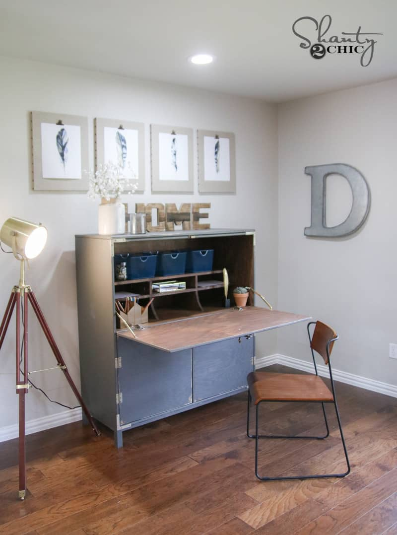 Make Your Own Flip Top Writing Desk  KnockOffDecorcom