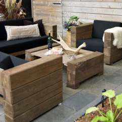 Wood Patio Chair Plans Swing Rona Outdoor Furniture For The Rustic At Heart