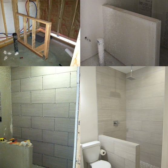 A Simple Solution to Adding a Basement Bathroom  KnockOffDecorcom