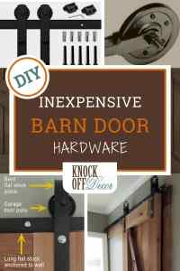 Inexpensive Barn Door Hardware Tutorial