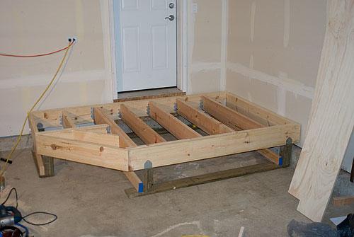 Garage Entry Deck Phase 1  knoernschildorg