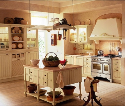 How To Create A Yellow Country Kitchen