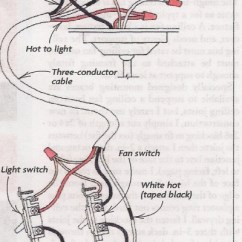 Hunter Ceiling Fan 3 Way Switch Wiring Diagram Ac Diagrams How To Wire A Bathroom With Light | Bath Fans