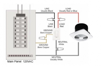 bathroom fan with timer wiring diagram progressive dynamics power converter how to install a switch