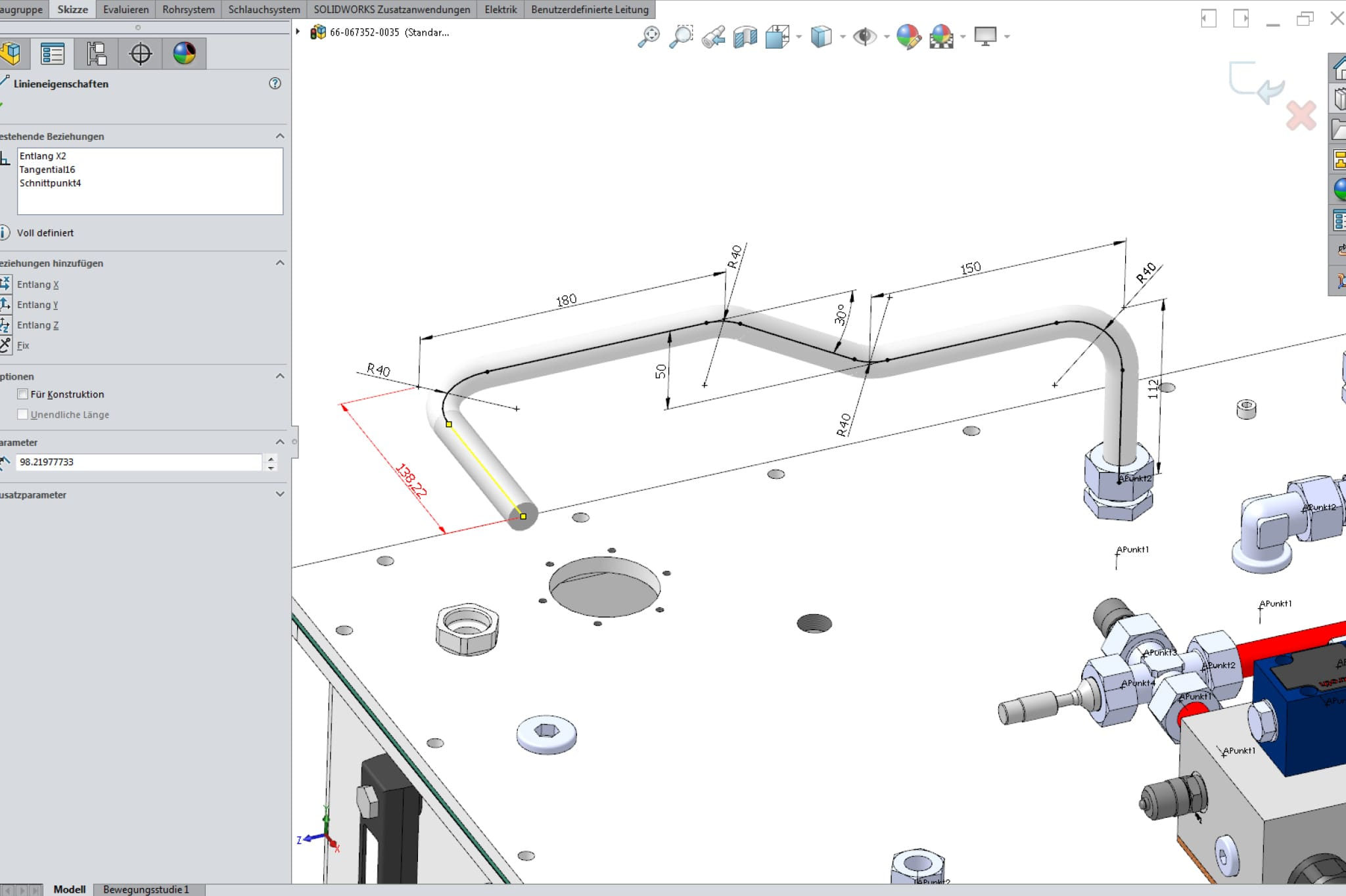 small resolution of solidworks routing
