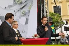 Spatenstich und Zukunftsperspektive der StadtRegioTram Gmunden - Vorchdorf