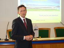 Vortrag bei der Union Europäischer Eisenbahningenieure 2016