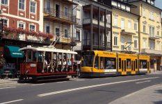 Zwei Gäste auf Gmundens Schienen - Baujahre 1898 und 2003