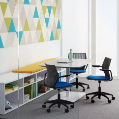 Knoll Generation Task Chair Modern With Ottoman Multigeneration By Light