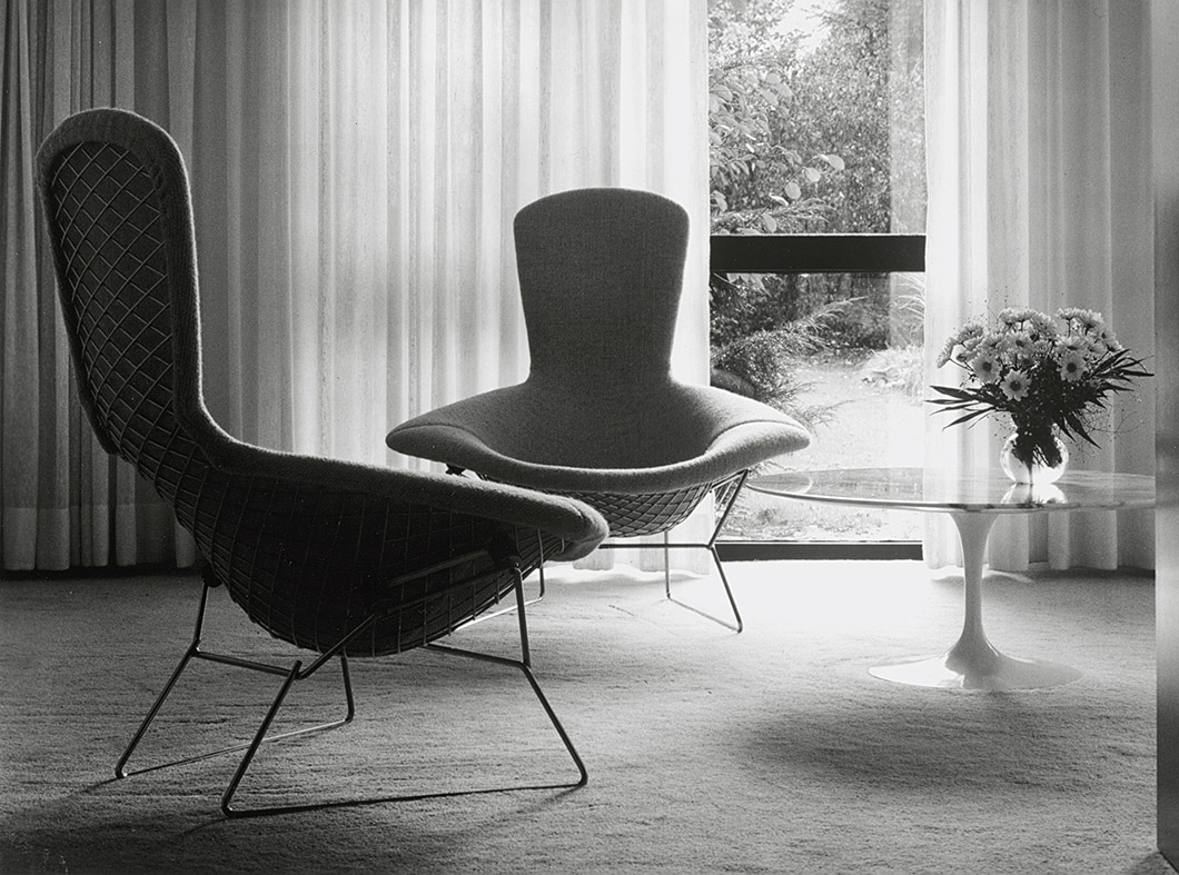 Harry Bertoia Chair Mit Chapel Knoll Inspiration