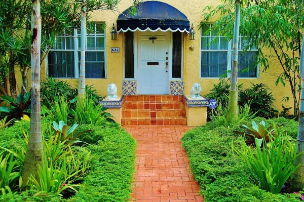 landscape ideas south florida front