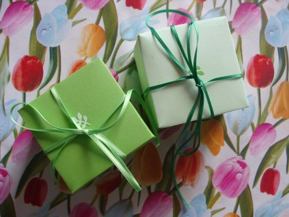 Little gift box - twee doosjes - buitenkant