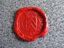 Lakzegel gemt Weert - Wax seal