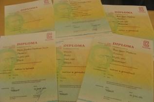 Diploma's 2013